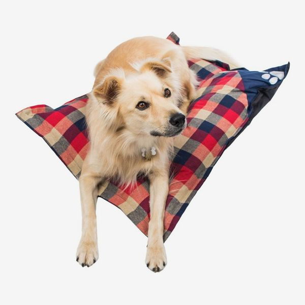 Duck River Textile Hasley Red/Navy Plaid Pet Pillow