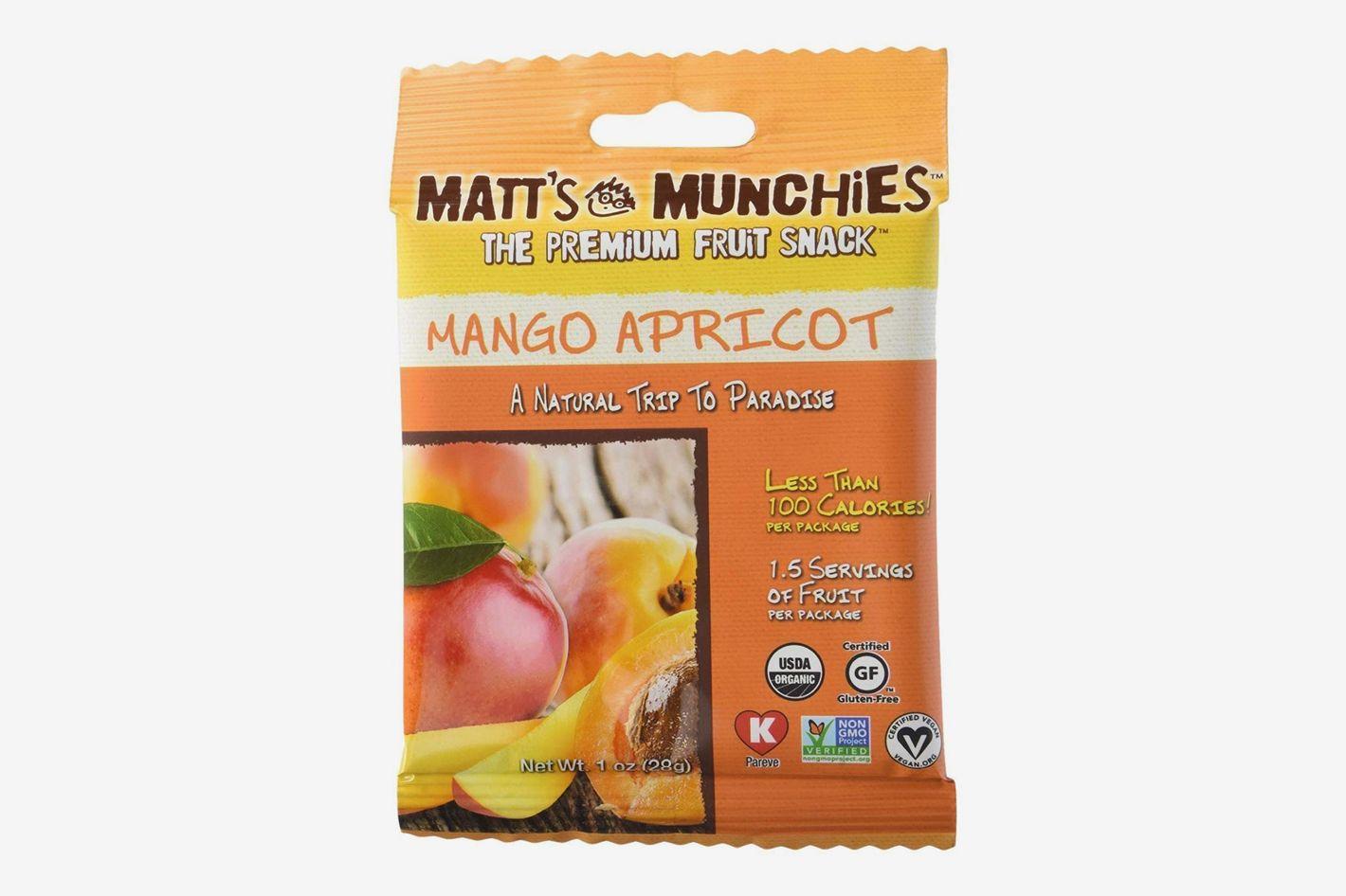 Matt's Munchies Organic Fruit Snack (1-Ounce Bag)