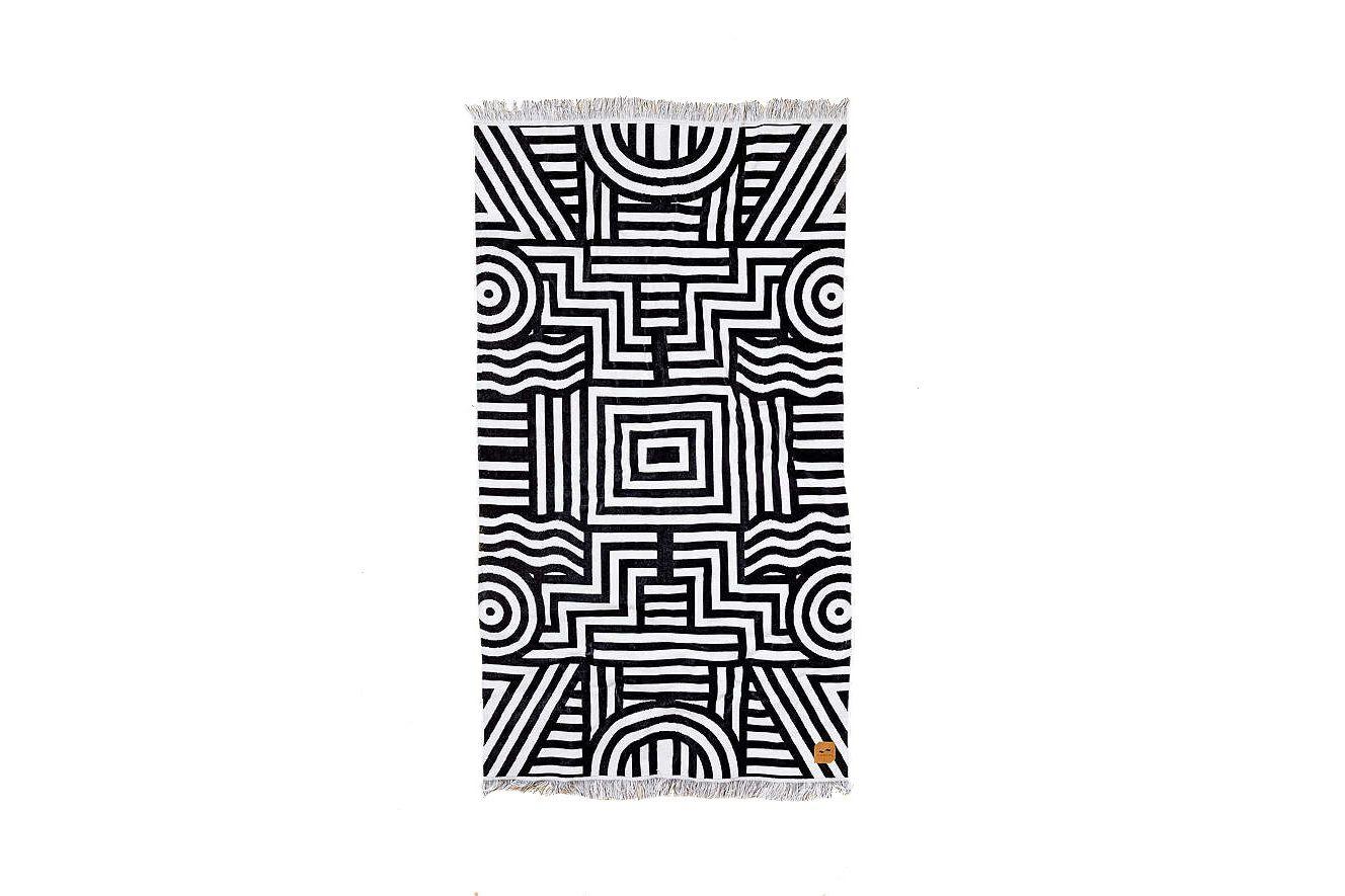 Slowtide Visions Beach Towel