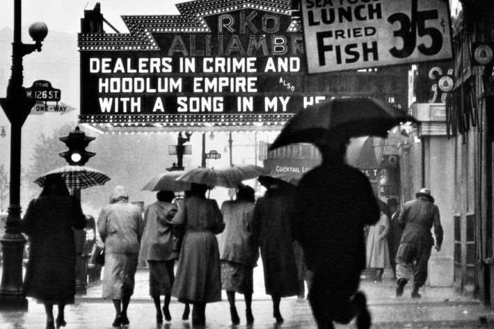 <i>Harlem Neighborhood,</i> Harlem, New York, 1952.
