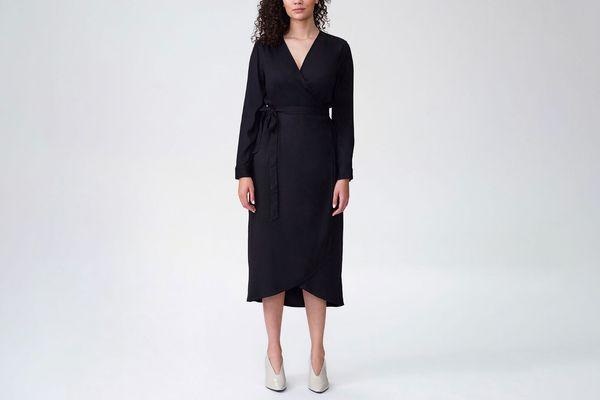 Universal Standard Rivers Wrap Dress