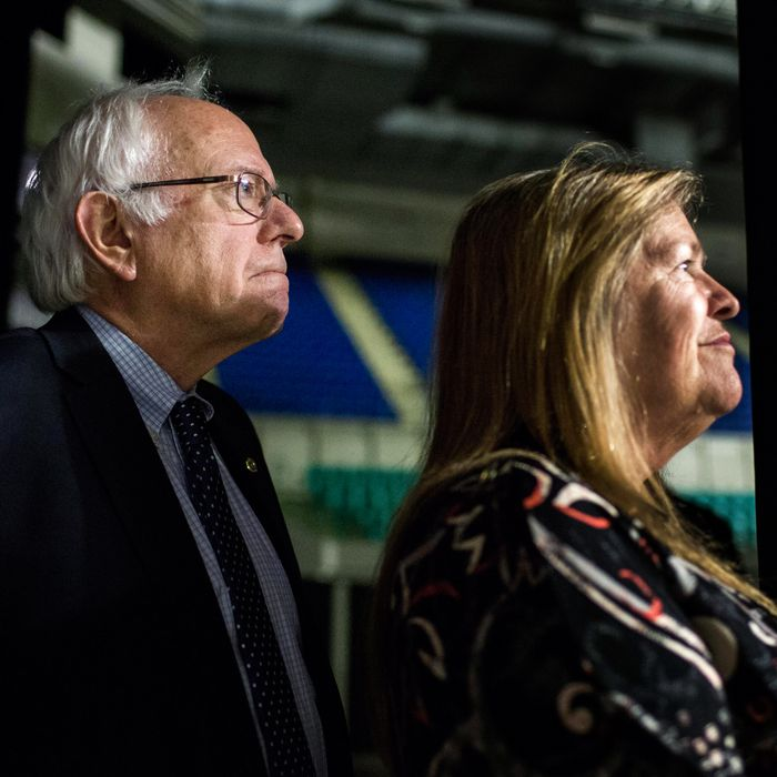 Bernie and Jane Sanders.