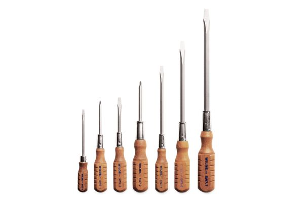 Set of seven screwdrivers