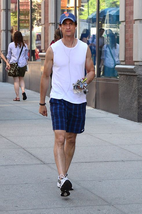 NEW YORK, NY - JULY 17:  Anthony Weiner is seen walking in Soho on July 17, 2014 in New York City.  (Photo by Raymond Hall/GC Images)