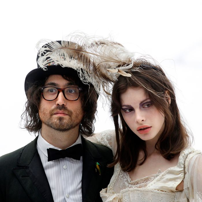Sean Lennon and girlfriend Charlotte Kemp Muhl.