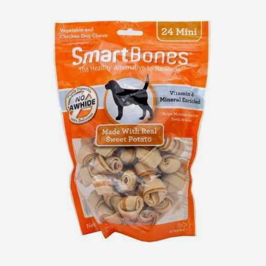SmartBones Mini Sweet Potato Chews