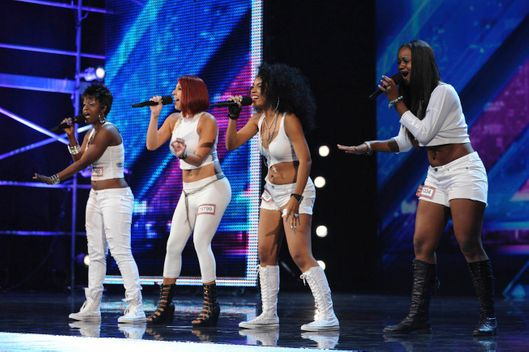 THE X FACTOR: 2SQUAR'D performs in front of the judges and thousands of audience members on THE X FACTOR airing Thursday, Sep. 22 (8:00-10:00 PM ET/ PT) on FOX. CR: Ray Mickshaw / FOX.
