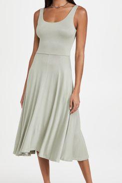 Vince Full Skirt Dress