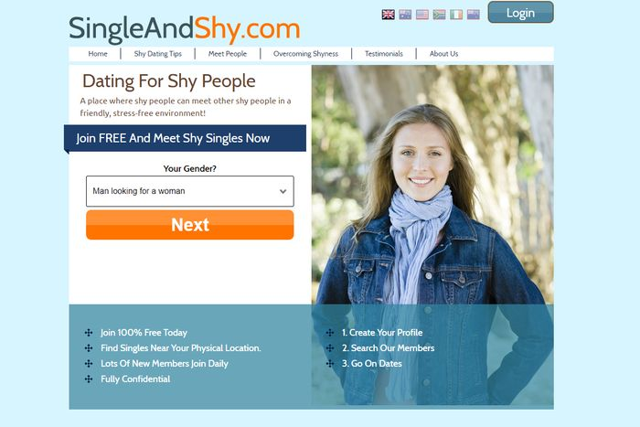 Shyness Dating Site.)