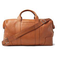 Shinola Full-Grain Leather Holdall