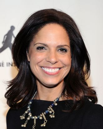 News anchor Soledad O'Brien attends the FIAF and Cine Institute of Haiti screening of