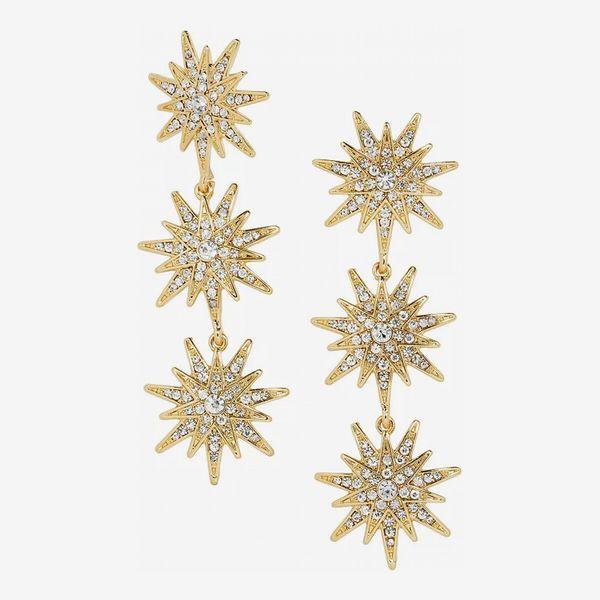 Baublebar Horizon Triple Starburst Drop Earrings