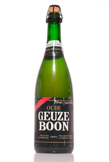 "Brouwerij Boon (Belgium)<br>$15.95 for 25.4 oz. <br><strong>Type:</strong> Geuze<br><strong>Tasting notes:</strong> ""One of the best lambics in the world, which means it spends years on oak getting super-sour — like lemonade, only better. Do not confuse this with the syrupy-sweet stuff masquerading as lambic!"" <br>—Matt Barclay, cellar manager, Bierkraft<br>"