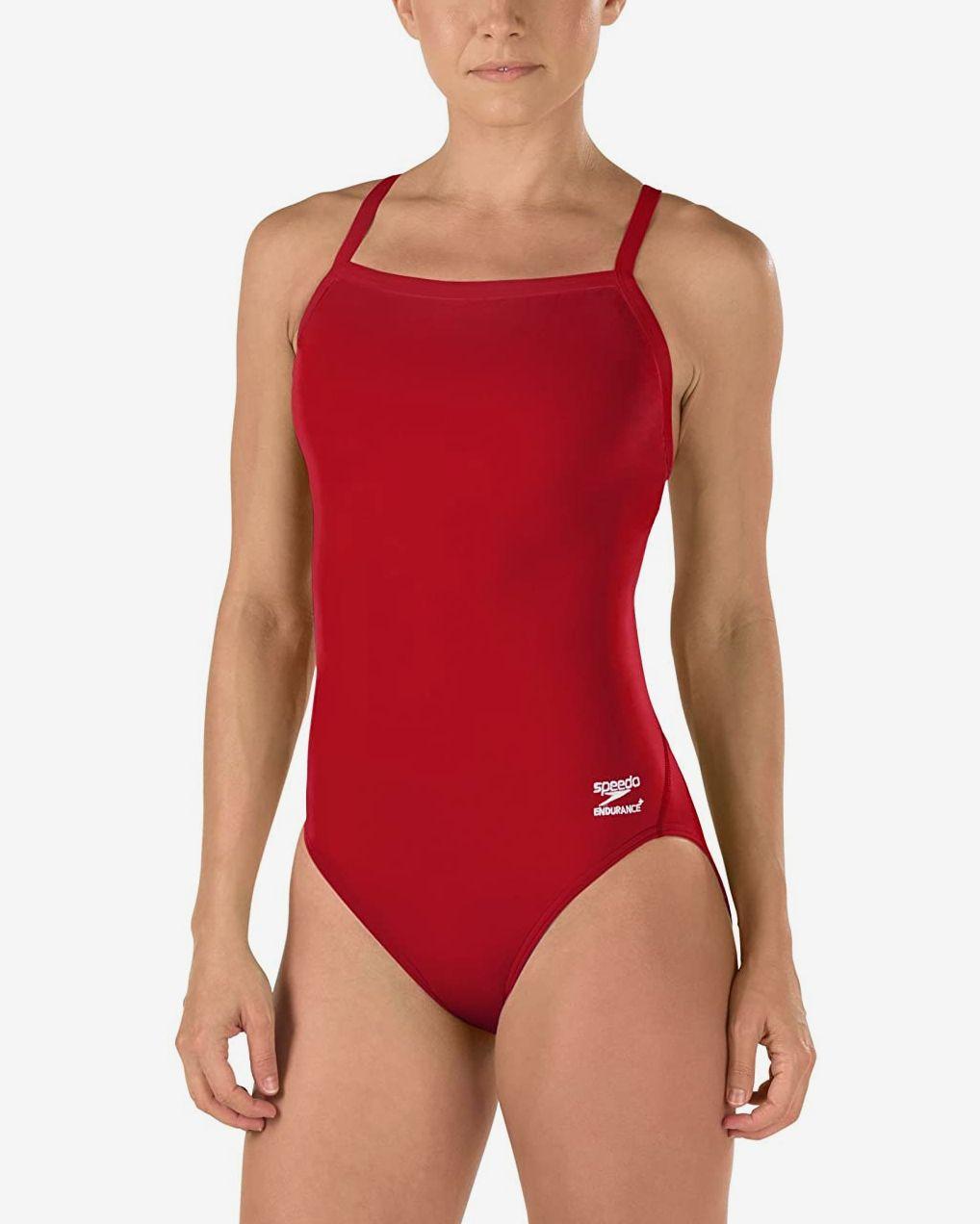 Ruffle 1 Piece Speedo Womens/' Swimsuit Black