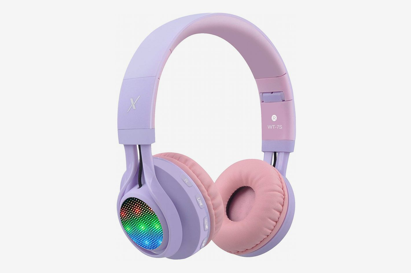 Riwbox WT-7S Light- Up Bluetooth Headphones