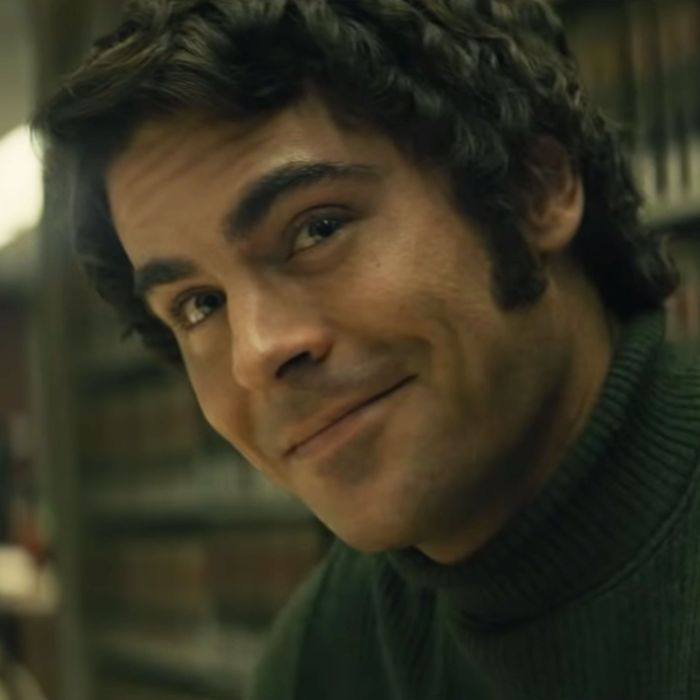 Zac Efron as Ted Bundy in Extremely Wicked, Shockingly Evil and Vile.