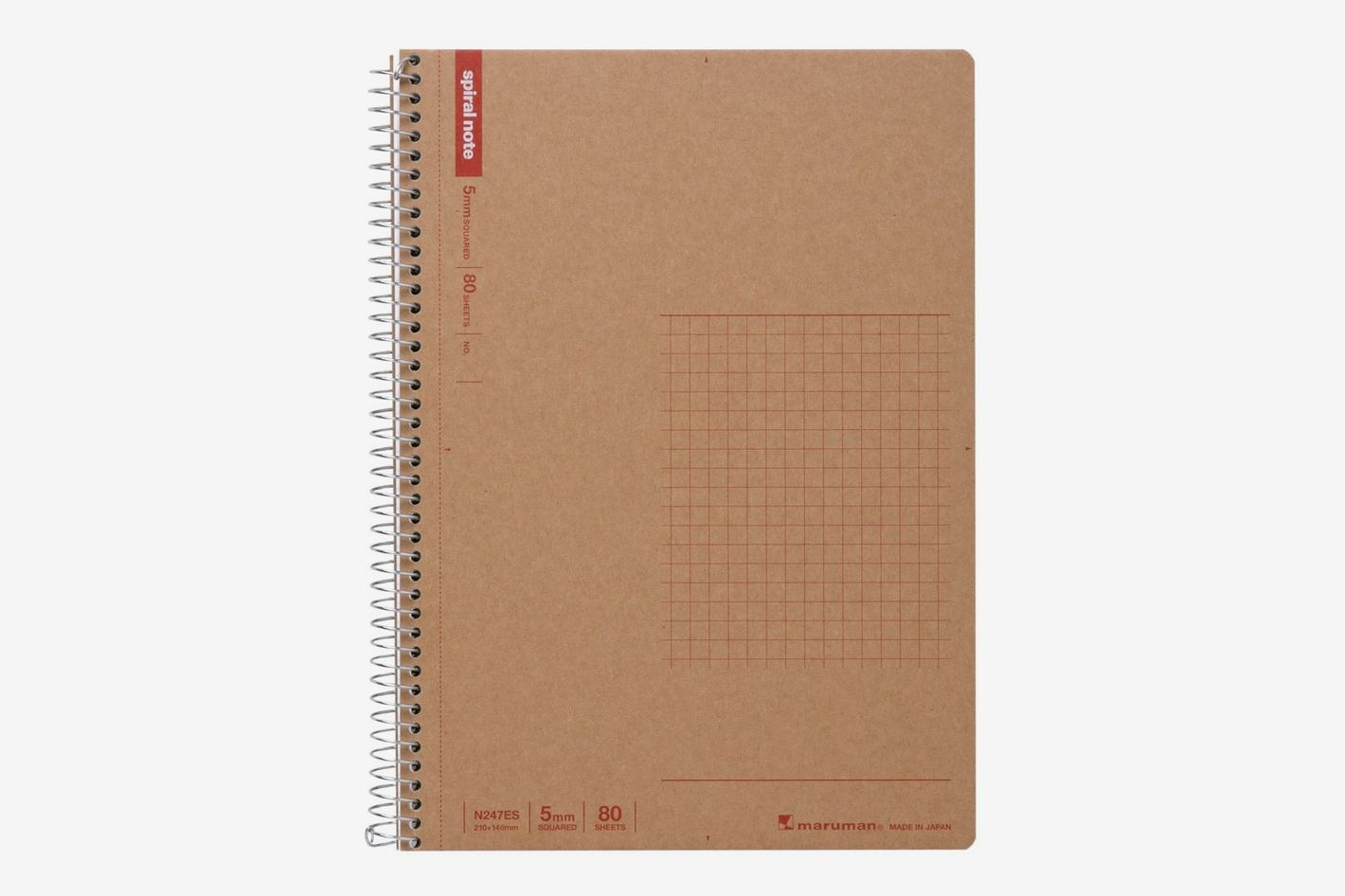 Maruman A5 Spiral Notebook