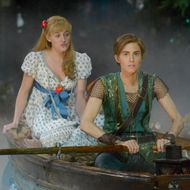 PETER PAN LIVE! -- Dress Rehearsal -- Pictured: (l-r) Taylor Louderman as Wendy Darling, Allison Williams as Peter Pan -- (Photo by: Virginia Sherwood/NBC)