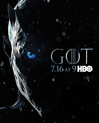 1b5d91d302 The Night King Is Here in the Chilling Game of Thrones Season 7 Poster