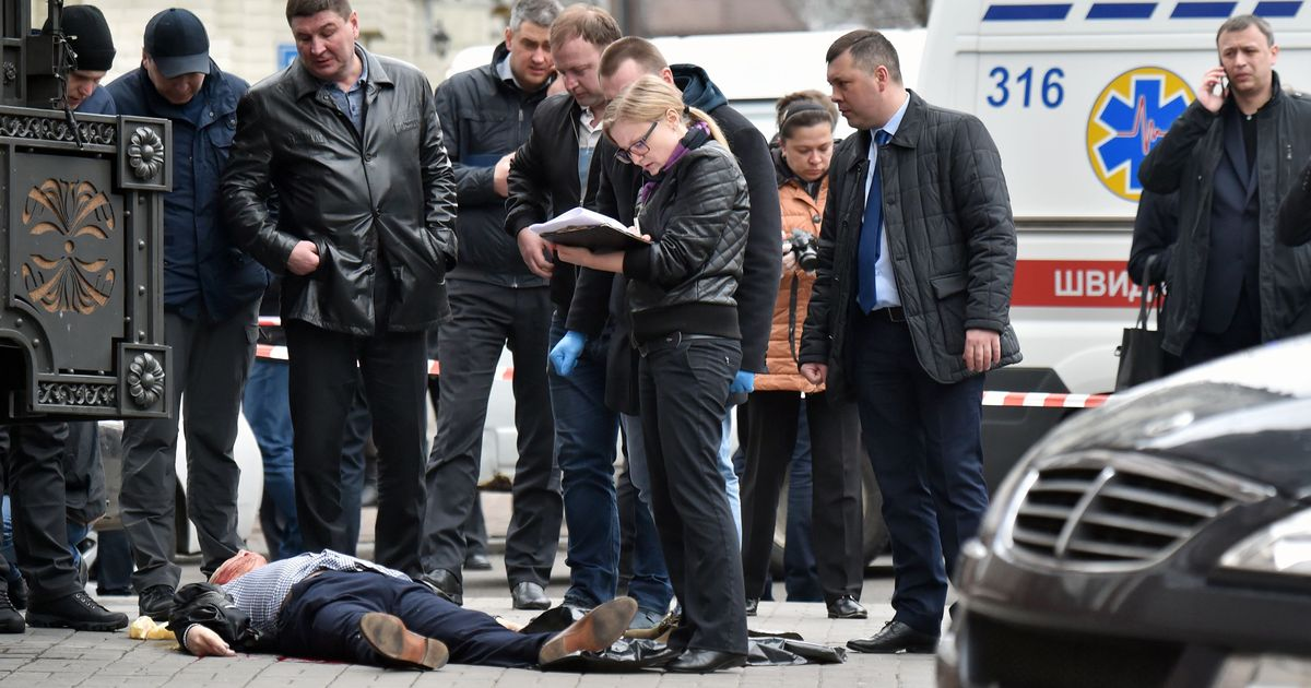 2a92e2c3f91 Former Russian Lawmaker and Putin Critic Gunned Down in Broad Daylight