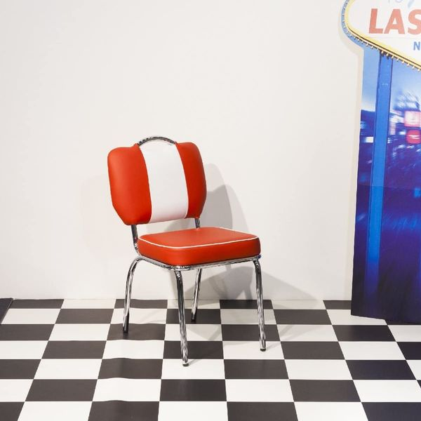 Just-Americana 50s Style Retro Diner Chair