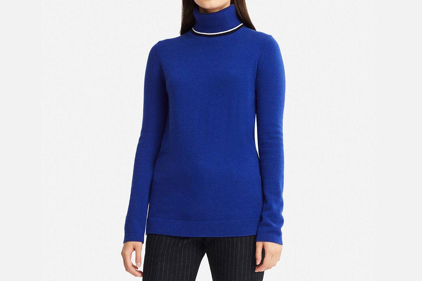 Uniqlo Women's Cashmere Turtleneck Tunic (Inès de la Fressange)