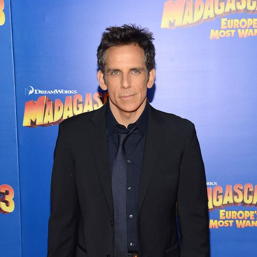 "Actor Ben Stiller attend the ""Madagascar 3: Europe's Most Wanted"" New York Premier at Ziegfeld Theatre on June 7, 2012 in New York City."