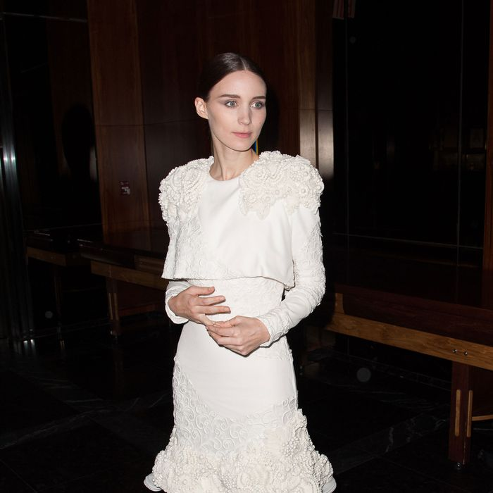 Rooney Mara attends the premiere after party for