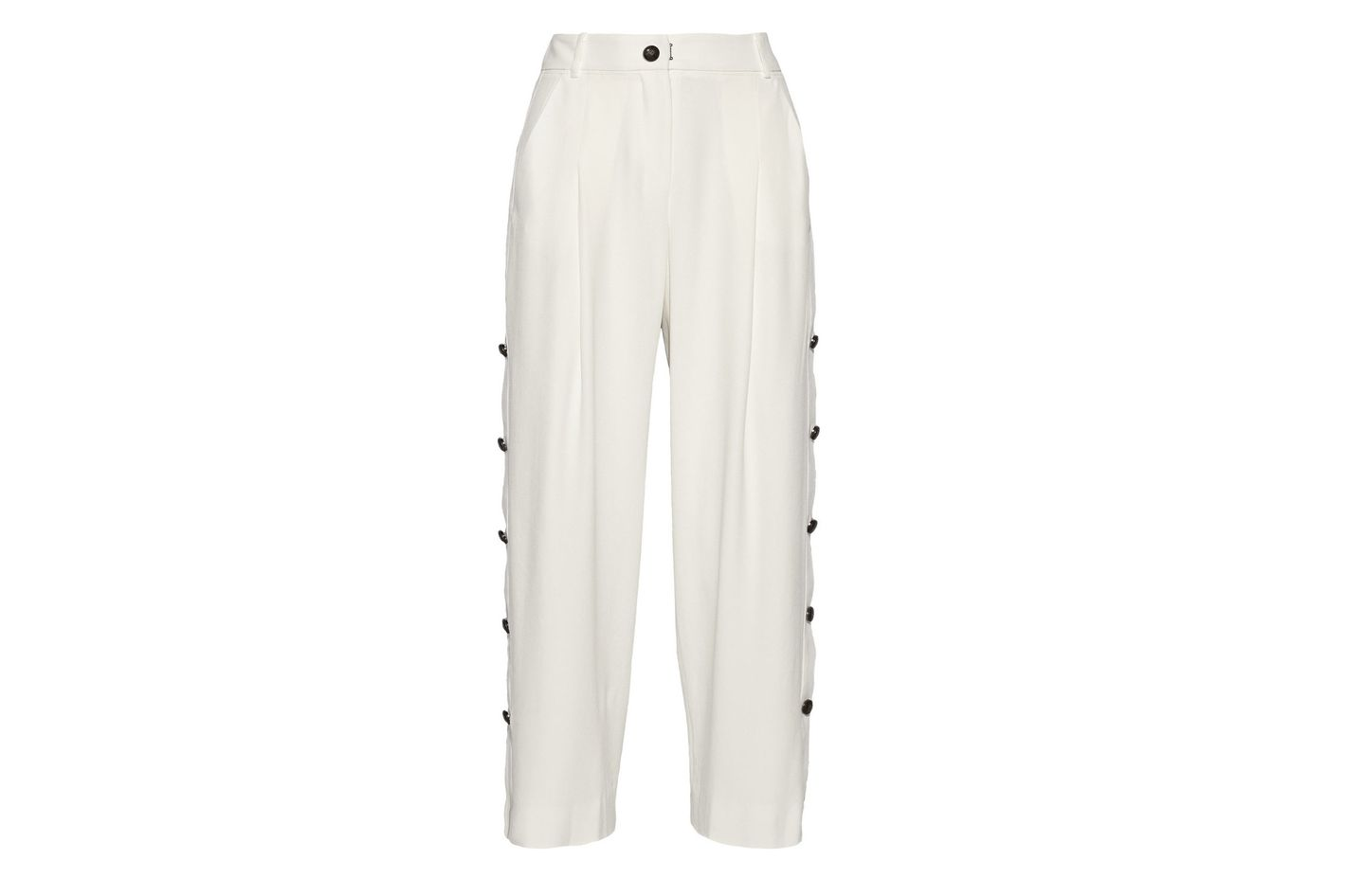 Maiyet Cropped Wide-Leg Pant