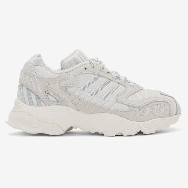 Adidas Originals White Torsion TRDC Sneakers