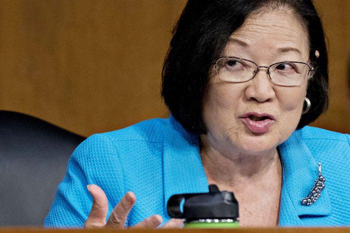 Senator Mazie Hirono.