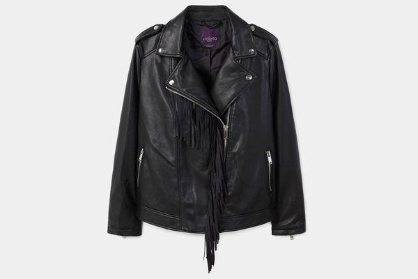 Fringe Biker Jacket