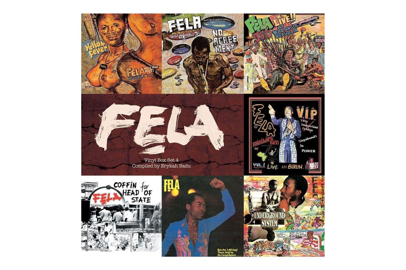 Fela Kuti, Fela Box Set 4
