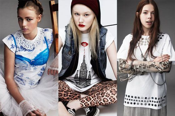 Designs by Erdem, Holly Fulton, and Christopher Kane.