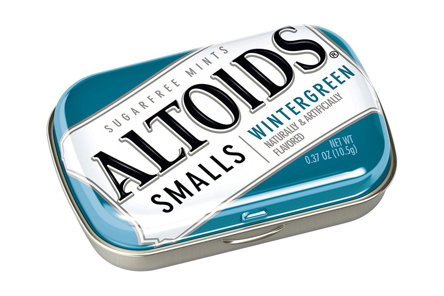 Altoids Smalls Wintergreen Sugarfree Mints, Pack of 9