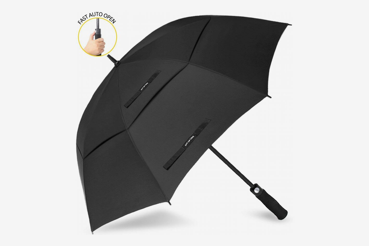Zomake Automatic Open Golf Umbrella 62 68 Inch Large Rain Oversize Windproof Double Canopy At