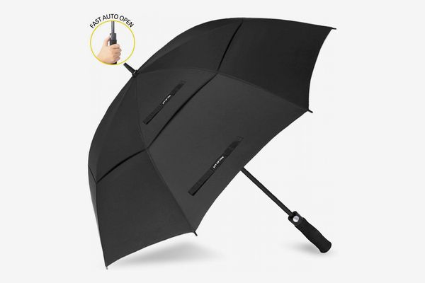 ZOMAKE Automatic Open Golf Umbrella 62/68 Inch - Large Rain Umbrella Oversize Windproof Umbrella Double Canopy