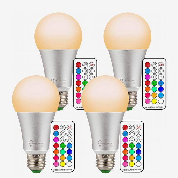 LumenBasic 60 Watt Color Changing Light Bulbs