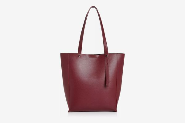 Rebecca Minkoff Stella Medium Leather Tote, Pinot Noir