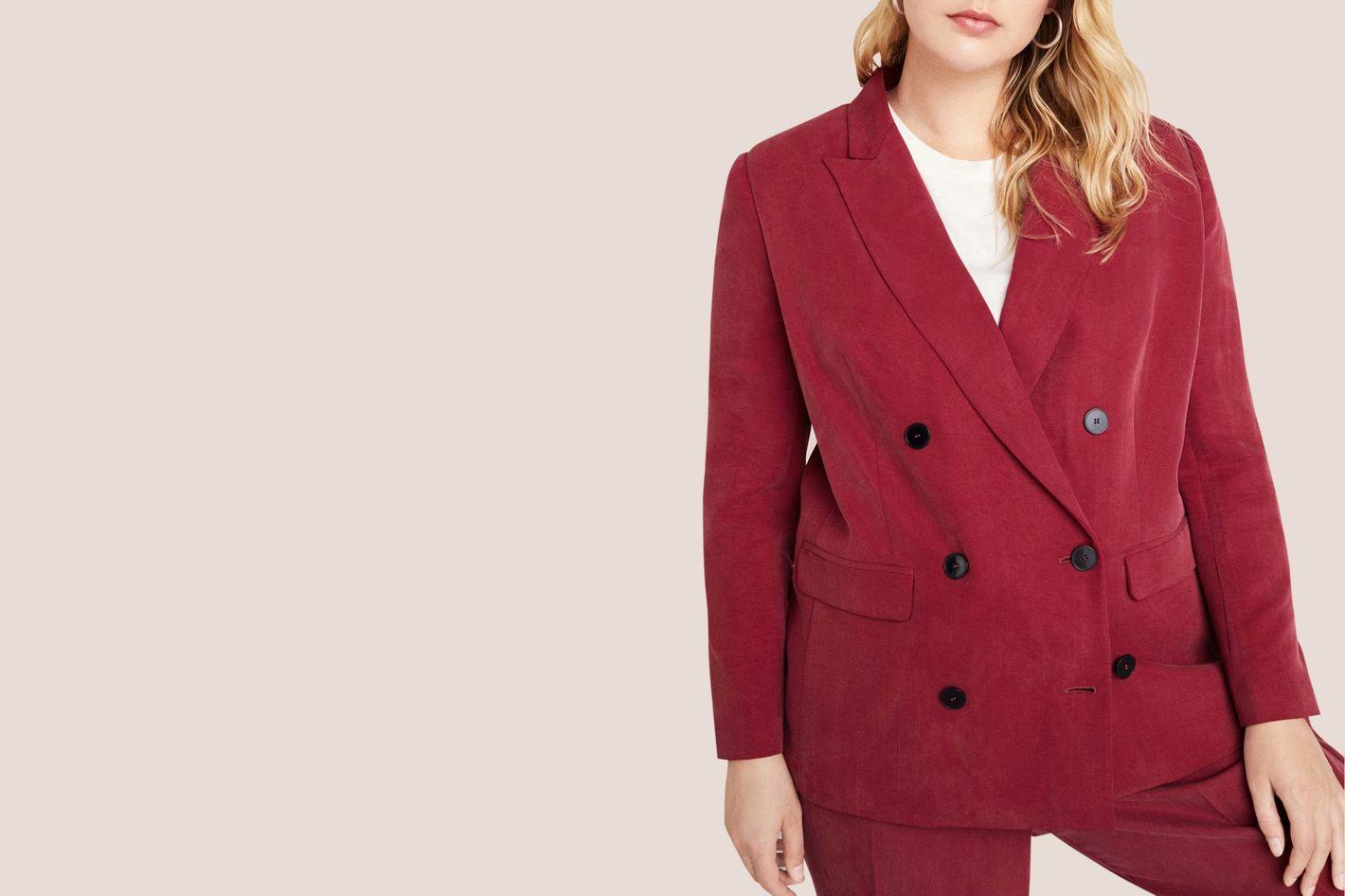 Buttoned Soft Blazer
