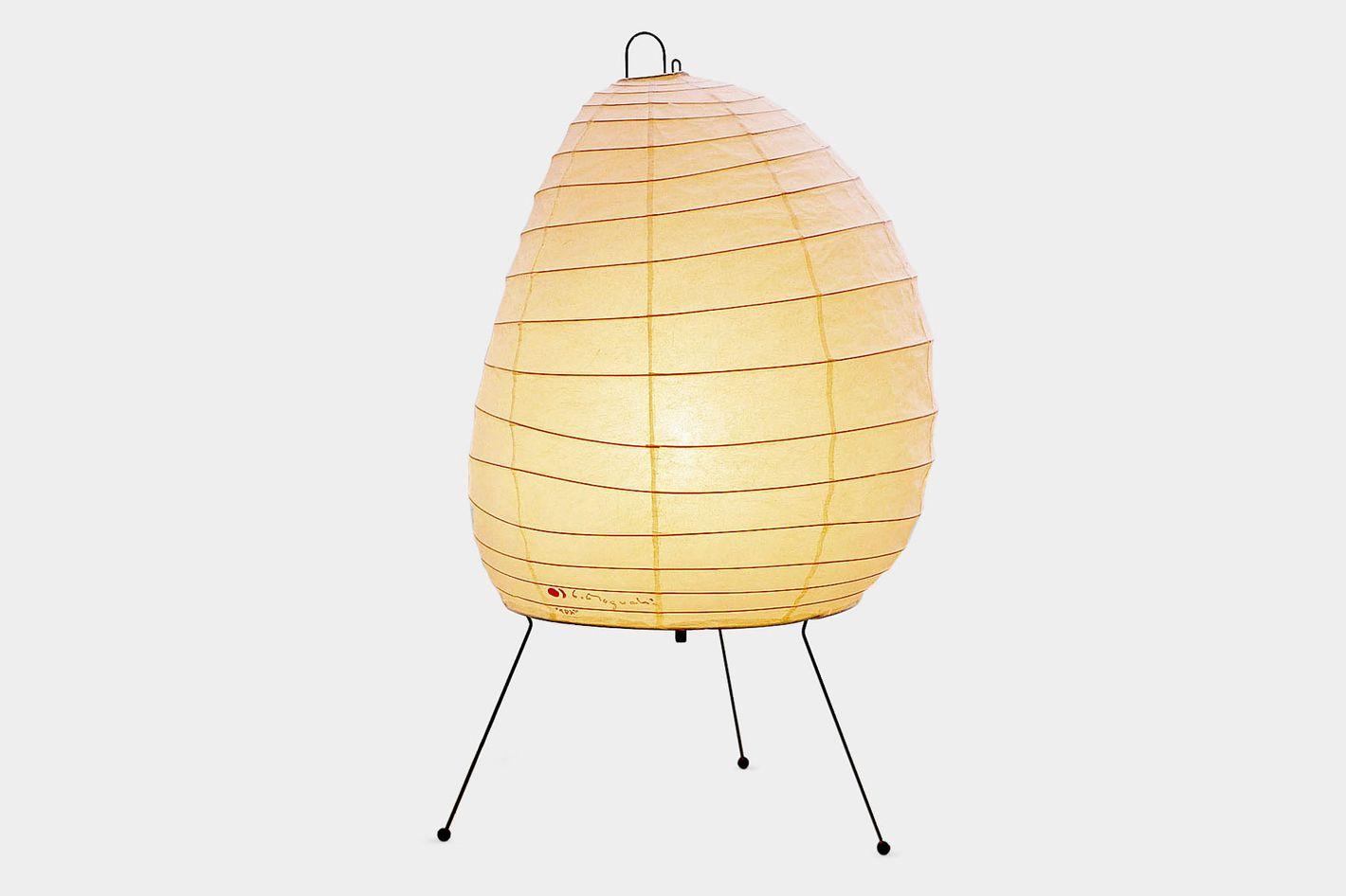 Isamu Noguchi 1950s Akari Beehive Table Lamp