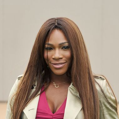 LONDON, ENGLAND - JUNE 18:  Serena Williams arrives at Burberry Menswear Spring/Summer 2014 at Kensington Gardens on June 18, 2013 in London, England.  (Photo by Gareth Cattermole/Getty Images for Burberry)