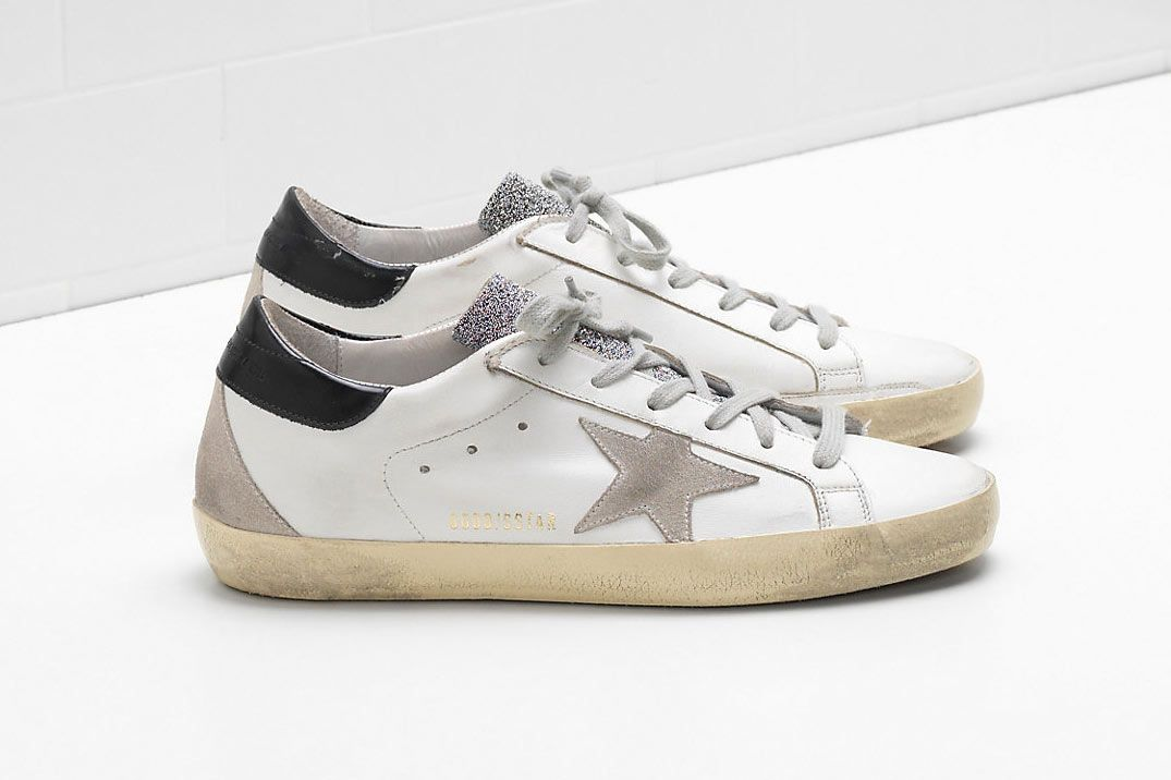 Golden Goose Superstar Sneakers (similar style)