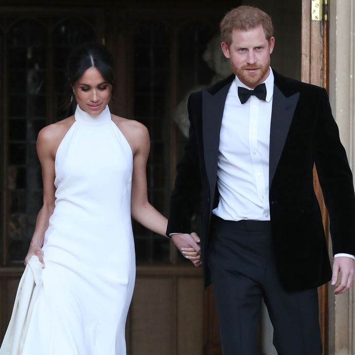 Meghan Markle, Prince Harry New Wedding Reception Photo