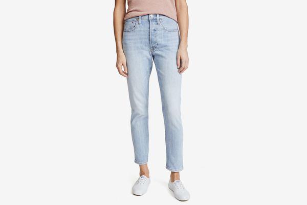 Levi's 501 Stretch Skinny Jeans