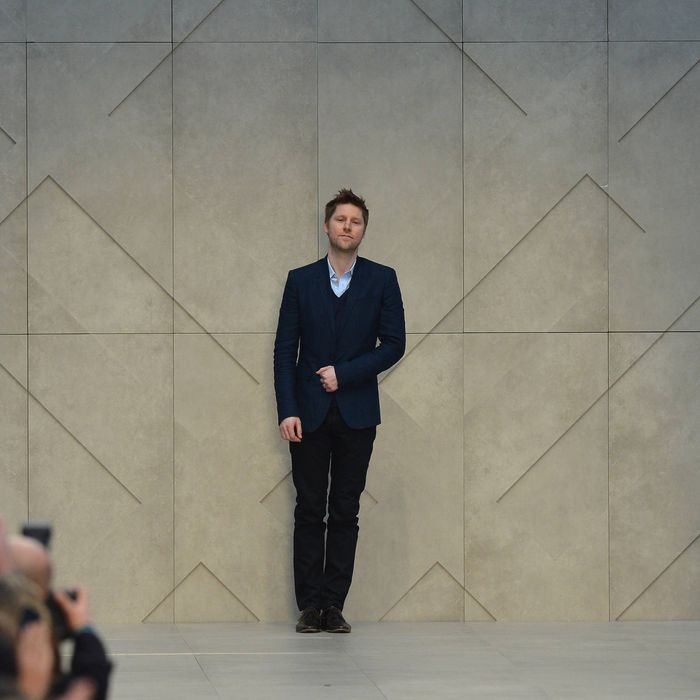 Christopher Bailey Is Burberry S New Ceo