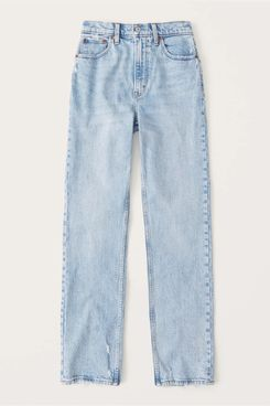 Abercrombie '90s Ultra High Rise Straight Jeans
