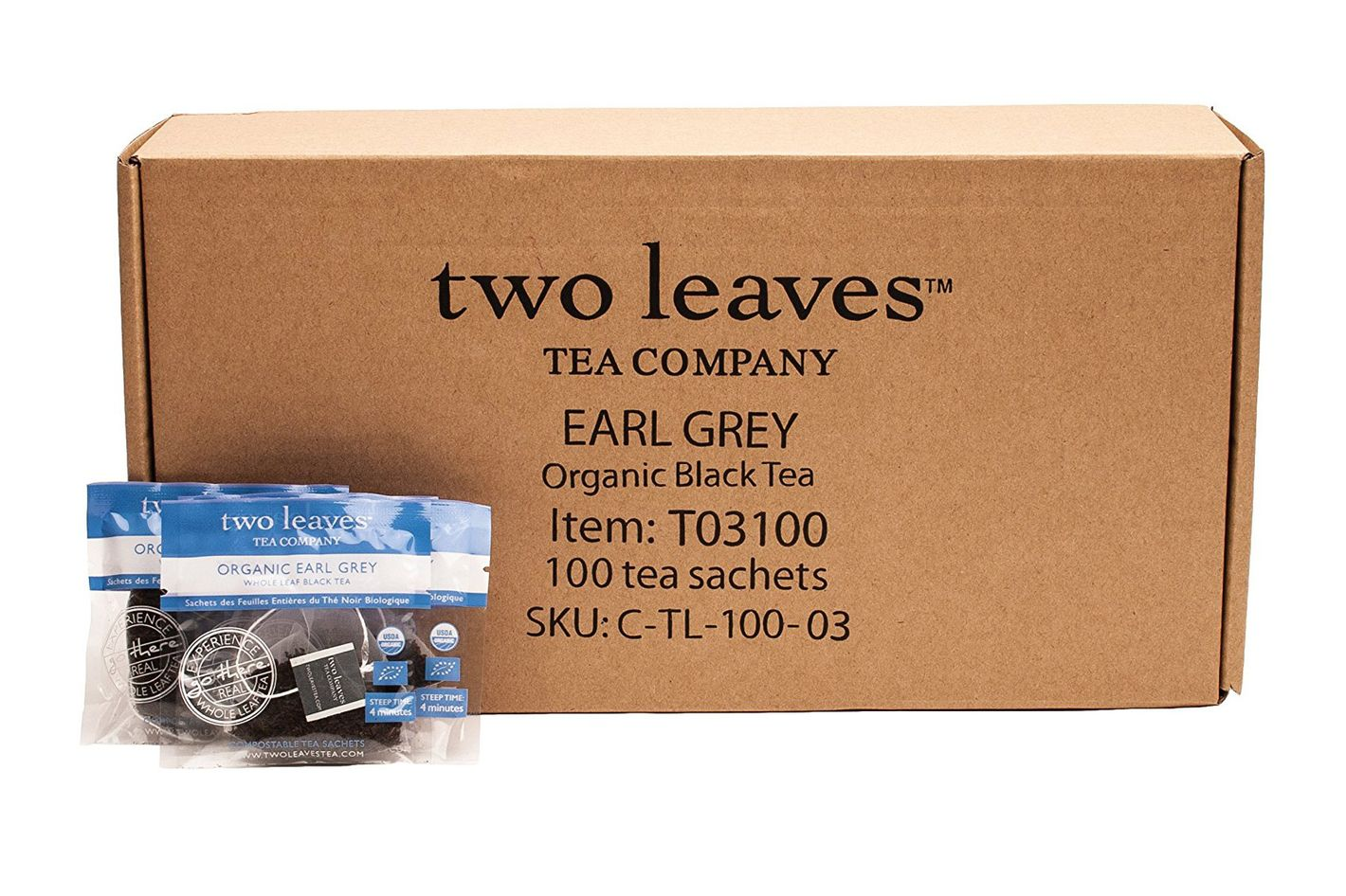 Two Leaves and a Bud Organic Earl Grey Black Tea