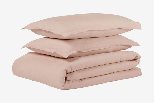 Stone & Beam Reversible Marcana Linen Full/Queen Duvet Cover Set