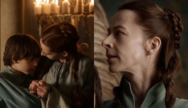 Season 1, episode 8 and 9: Lysa Arryn still breast-feeds her tween-age son  in public. Enough said.